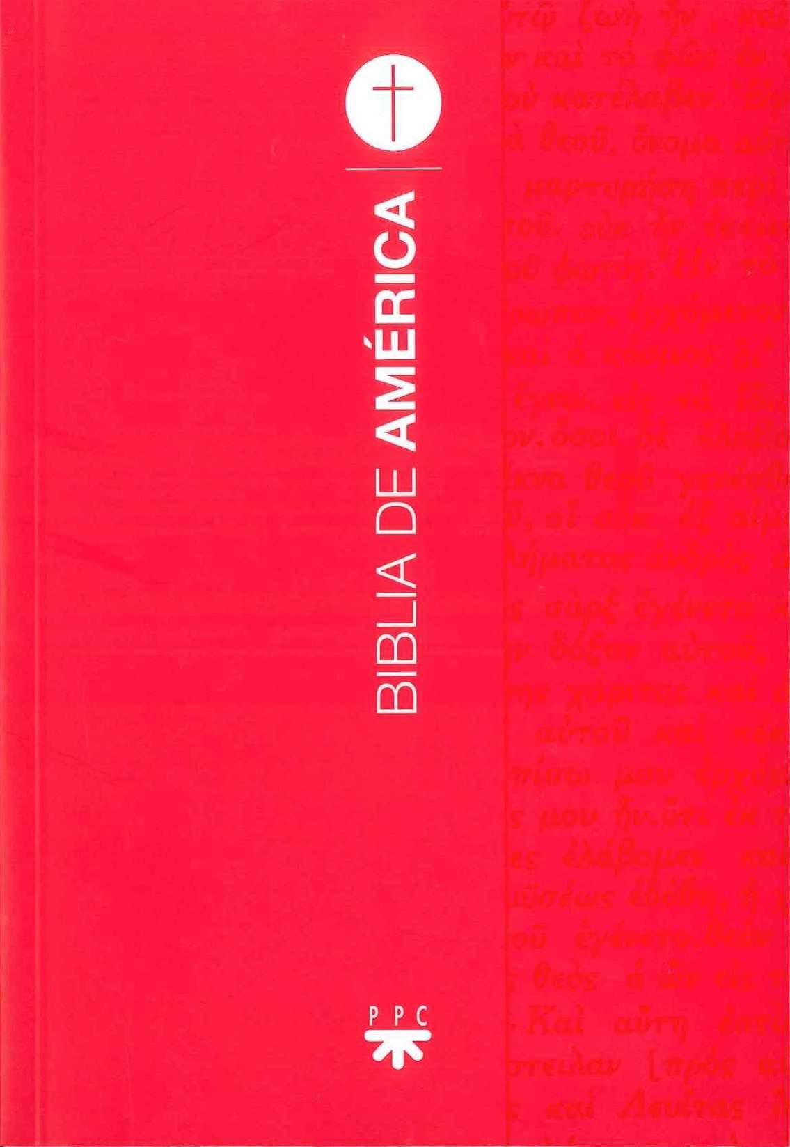 Biblia de América. Manual [Rústica, Roja]